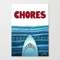 Chores (original Version… Canvas Print