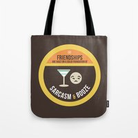 Foundations Of Friendshi… Tote Bag