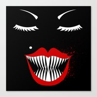 MANEATER. Canvas Print