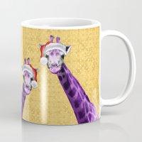 Tis The Season - Giraffe Mug