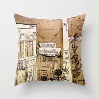 Bauhaus Throw Pillow