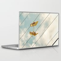 shoes Laptop & iPad Skins featuring Shoes by ZenaZero