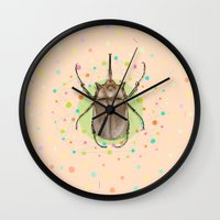 Insect I Wall Clock