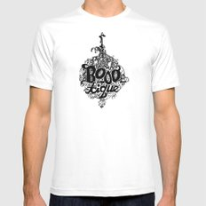 BOOO-tique! Mens Fitted Tee White SMALL