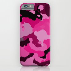 Shades of Pink Camo iPhone 6s Slim Case