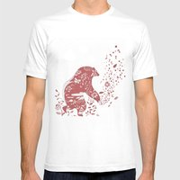 Golden Bear Mens Fitted Tee White SMALL