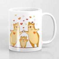 Family Of Bears Mug
