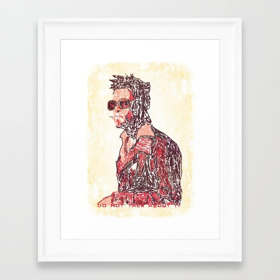 Tyler Framed Art Print