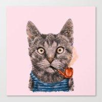 Sailor Cat IX Canvas Print