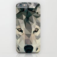 iPhone & iPod Case featuring wolf by gazonula