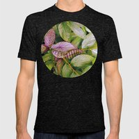 leaves evolved 2 Mens Fitted Tee Tri-Black SMALL