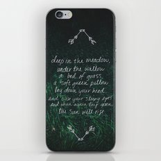 Rue's Song iPhone & iPod Skin