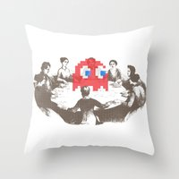 Medium Difficulty Throw Pillow