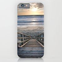 iPhone & iPod Case featuring Steps to the Ocean by WHIT MORE