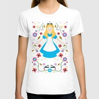 alice T-shirts featuring Alice by Carly Watts