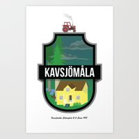 Kvsjmla Art Print