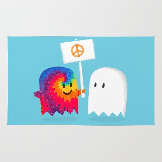 Hippie ghost Area & Throw Rug