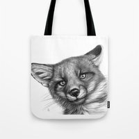Fox Cub G139 Tote Bag