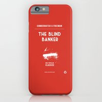 iPhone & iPod Case featuring BBC Sherlock The Blind Banker Minimalist Poster by ofalexandra