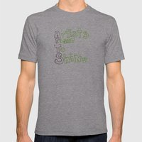 Arts Mens Fitted Tee Athletic Grey SMALL