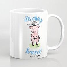 Brave Piggy Mug