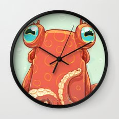 Goldie the Octopus Wall Clock