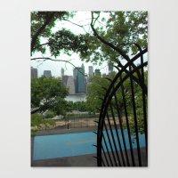New York City, Landscape Canvas Print