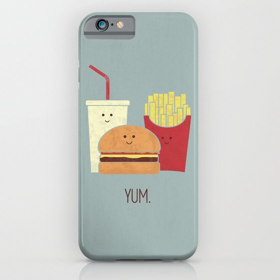 Fast Food iPhone & iPod Case
