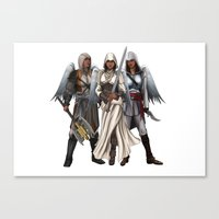 Warrior Angels Canvas Print