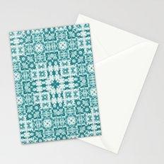 Aquatica Teal Kaleido Stationery Cards
