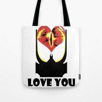 Eye Love You Tote Bag