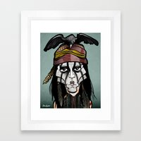Tonto Framed Art Print
