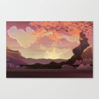 Chinese landscape Canvas Print
