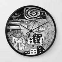 Alice's Dreams Wall Clock