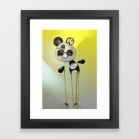 YellowPanda Framed Art Print