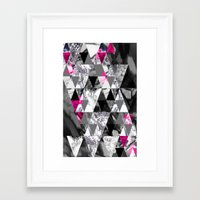 TRIANGLE Framed Art Print