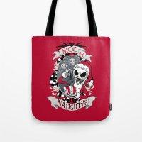 Scary Santa Tote Bag