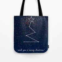 Tote Bag featuring wish tree by Inspire me Print