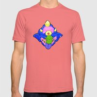 my pet madball Mens Fitted Tee Pomegranate SMALL