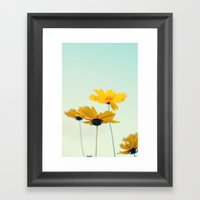Beautiful summer  Framed Art Print