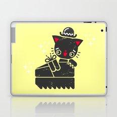 Cat In Platform Shoe Laptop & iPad Skin