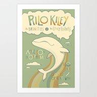 Rilo Kiley Art Print