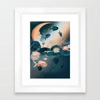 Lake Sleeps Framed Art Print