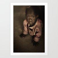 Samburu Baby Art Print