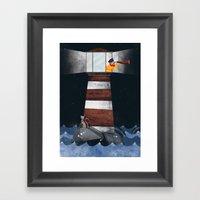 El Faro!! Framed Art Print