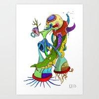 Crocodile Tears Collecto… Art Print