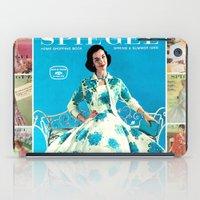 1958 Spring/Summer Spieg… iPad Case