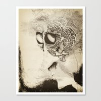 by-by brain Canvas Print