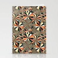 fun geometry Stationery Cards