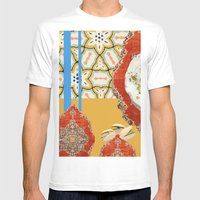 Persian Love Cake Mens Fitted Tee White SMALL